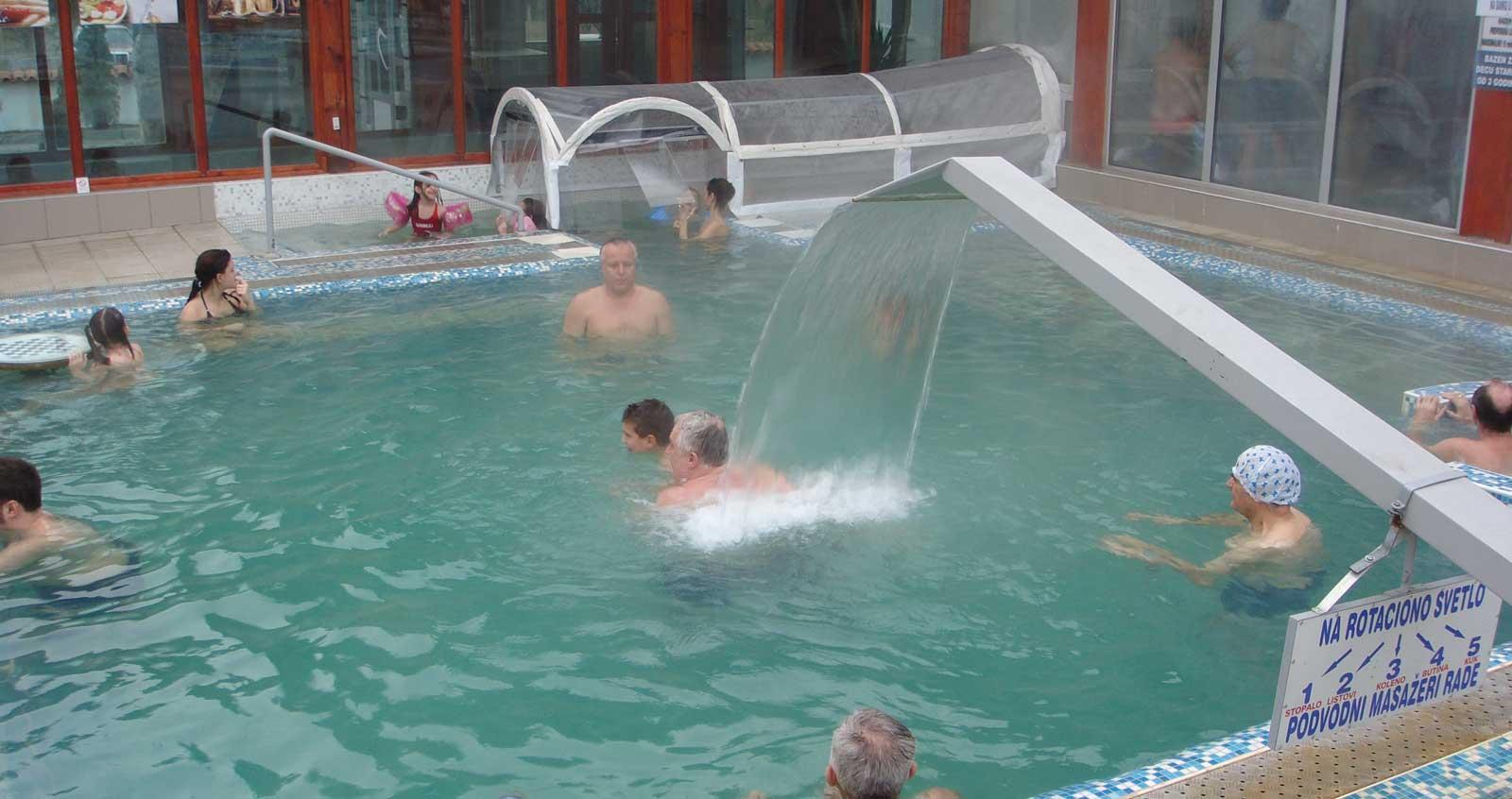 Ruc ždrelo - termalni bazen