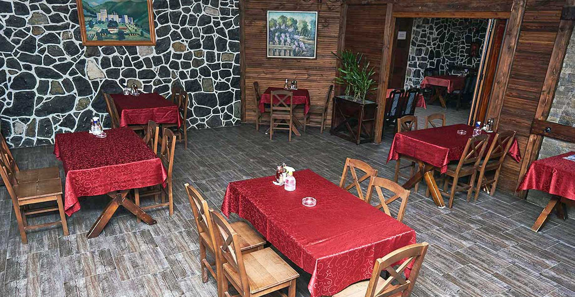 Restoran u objektu Terme Ždrelo